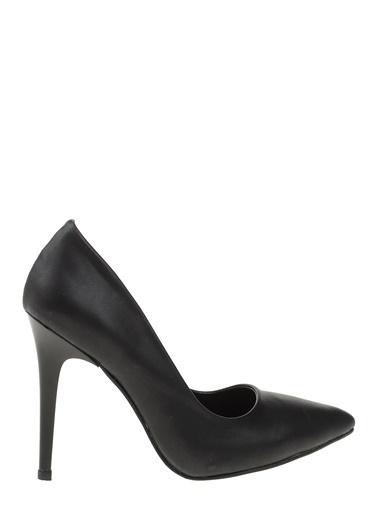 Bambi Stiletto Ayakkabı Siyah